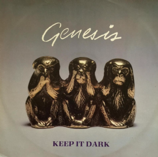 "Genesis - Keep It Dark (12"") (VG/VG)"